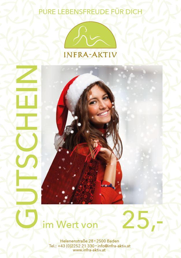 25€ Weihnachtsgutschein